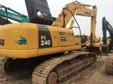 Excavador usado de KOMATSU PC240-8 del excavador de la correa eslabonada de KOMATSU 24ton