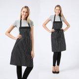 Avental de cozinha Bib ajustável com bolsos para homens e mulheres
