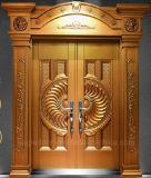 2018年の工場は直接供給する別荘の鋼鉄機密保護のドア、鉄の金属のドア(EF-V63)を