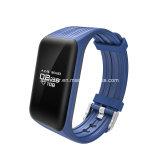 Braccialetto astuto impermeabile dell'inseguitore Ky62 Bluetooth Passometer di forma fisica del video di frequenza cardiaca