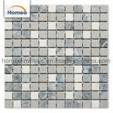 Hot de nouveaux produits Athènes Pierre naturelle grise tuile mosaïque de marbre pour la maison de vente