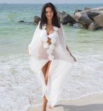 Último projeto Sexy Flores Longa Chiffon vestido Maxi