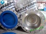 Geflanschter Absperrschieber des Form-Stahl-A216 Wcb API 600