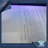 Personalizado de seguridad de fibra de UV Hot Stamping Certificado Holograma