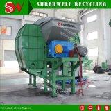 Desecho/neumático inútil que recicla la línea con el producto final para la venta