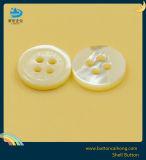Bouton Shell laser de haute qualité avec 4 trous pour chemise vêtement