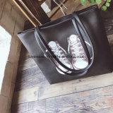 연약한 PU 쇼핑 백 바느질 여자 끈달린 가방 (TTE-005)