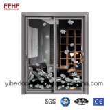 ينزلق ألومنيوم مطبخ باب [دين رووم] باب مع زجاج مزدوجة