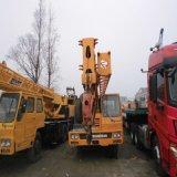 máquinas de construção de elevação 35 Ton Japão utilizada máquina guindaste Tadano TL350e utilizado o Guindaste