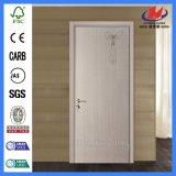 Marco con la puerta respetuosa del medio ambiente impermeable del PVC del plástico