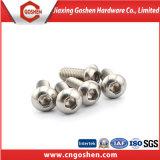 Roestvrij staal ISO 7380 Hexagon HoofdSchroeven van de Knoop van de Contactdoos