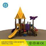 2017 Новая подарочная стиле Новый замок детская игровая площадка для использования вне помещений оборудование