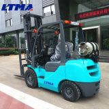 O Forklift japonês 2ton Gasoline/LPG do motor Dual caminhão de Forklift do combustível