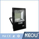 ISO9001製造業者10W 10W 30W 50W 100W LEDのフラッドライトSMDの穂軸
