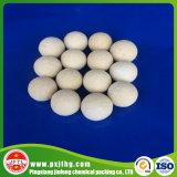Al2O3 17~23% bolas de cerámica de alúmina inertes como soporte de catalizador
