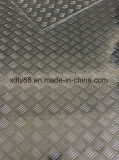 1050 1060 1100 3003 5052 5754 плита алюминия листа 6061 проступи Checkered