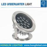 9W LED 수중 빛 IP68는 수영풀 빛을 방수 처리한다