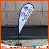 Exibir Tradeshow publicidade exterior Banner lágrima de poliéster