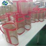 耐熱性PTFEの上塗を施してあるガラス繊維の網ベルト