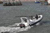 Liya 24,6 pies yate de lujo bote inflable rígido