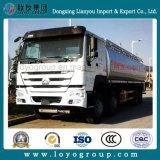 Caminhão de combustível do caminhão de tanque 25000L do petróleo de Sinotruk HOWO 8X4