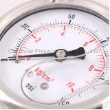 2.5inchesオイルの満たされた振動証拠すべてのステンレス鋼の圧力計