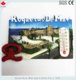 La fonction thermomètre mini Fridge Magnet Roquetas de Mar souvenir en espagnol