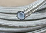 Chinois sur le fil tressé en acier inoxydable flexible en téflon