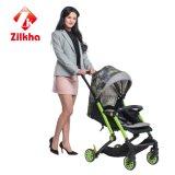 Grünes Anoden-Baby Car- mit Rahmen und 3 in 1