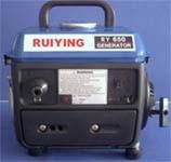 Luftgekühlter Benzin-Generator-Satz RY650/950