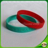 Braccialetto del silicone personalizzato Wristband di gomma di Debossed