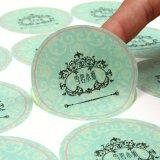 De Kleurrijke Sticker van uitstekende kwaliteit van het Document van de Druk van de Douane Removeable Transparante pvc