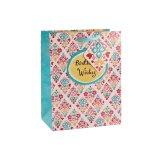 Geburtstag-rosafarbene Blumen-Kleidungs-Spielzeug-Geschenk-Supermarkt-Geschenk-Papiertüten