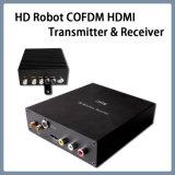 Robô HD vídeo sem fio HDMI Cofdm transmissor e receptor portátil