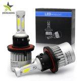 卸し売り極度の明るい6500K 8000lm H7 9005 9006 H10 9012 H8 H11 H7 H4 LED車のヘッドライトの球根