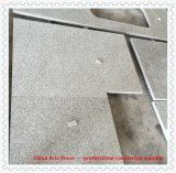 ホテルのプロジェクトのための卸し売り中国の磨かれたPangdangの白い灰色の花こう岩の台所カウンタートップ