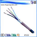 XLPE изолировало силовой кабель обшитый PE высоковольтный