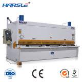 QC11K Guilhotina Hidráulica máquina de corte da chapa de aço