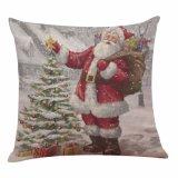 Cubierta de encargo cómoda superventas de la almohadilla de Papá Noel de la insignia