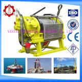 Argano resistente protetto contro le esplosioni Tugger dell'aria da 5 tonnellate per le miniere di carbone in sotterraneo e le applicazioni in mare aperto