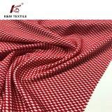 Le tricot tissu tissu à mailles Treillis Dobby cationiques de tissu de polyester