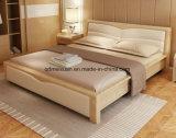 Festes hölzernes Bett-moderne doppelte Betten (M-X2327)