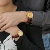 Belbi 한 쌍 시계 남자와 여자 형식 우연한 간단한 다이아몬드 가죽 사랑 시계