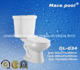목욕탕 화장실 Siphonic 2 조각 화장실 위생 상품 (DL-034)
