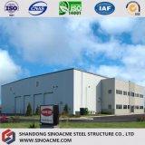 Estrutura metálica leve prefabricadas Sinoacme Construção de oficina