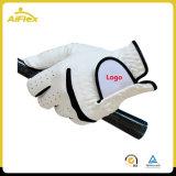 Guantes de golf de la mano izquierda con dedos suaves ajustable