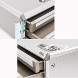 Chiusura del Governo a chiave di archivio dei cassetti dell'alluminio 7 con la barra della carta da lettere