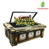 Máquina de jogo hábil da arcada dos peixes da batida do leopardo/caçador da pesca