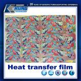 Impressão em filme de transferência a quente da moda nos calçados único filme de decoração
