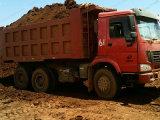De Vrachtwagen van de Tweede Hand HOWO van de Vrachtwagen van de Stortplaats 336/371HP van de Kipwagens LHD van Sinotruk